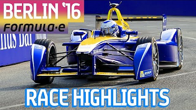 Race Highlights: BMW i Berlin ePrix 2016 - Formula E