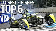 Top 6 Closest Championship Finishes - Formula E