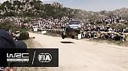 Rally Italia Cerdeña 2016: Micky salto especial