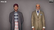 Hamilton plays Grandpa in Allianz road safety new advert