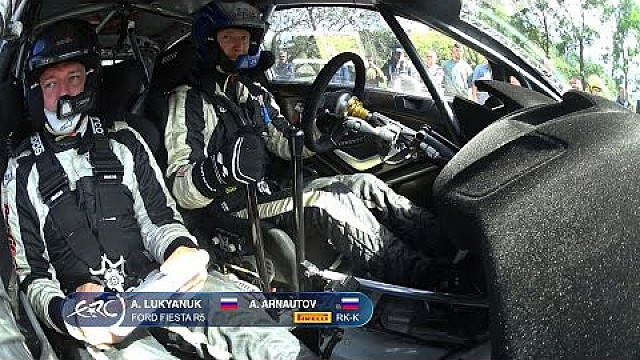 FIA ERC - Azores Airlines Rallye 2016 - Lukyanuk OBC SS10 Full Stage