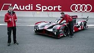 Der Audi R18 für Le Mans 2016