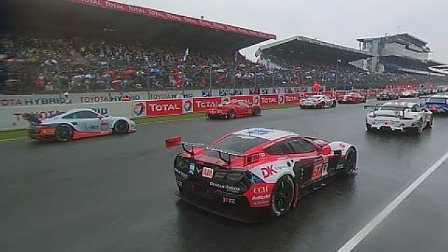 Vídeo 360°: largada das 24 Horas de Le Mans