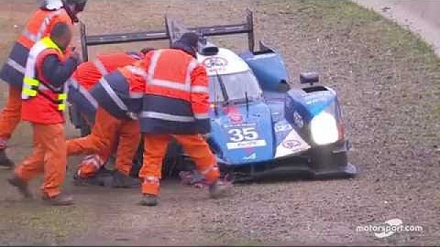 Le Mans 24h: Accidente del Alpine #35