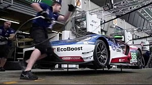 24h Le Mans: In der Ford-Garage