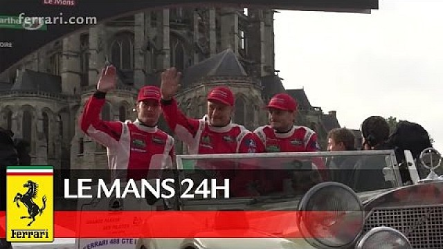 24 Hours of Le Mans - Showcase through the city