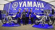 Yamaha's MX Stars Launch 2017 YZ Range at Matterley Basin