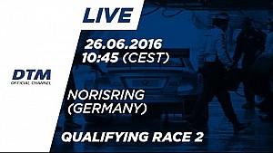Live: DTM Norisring 2016 - Qualifiche (Gara 2)
