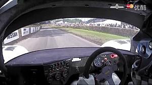2016古德伍德速度节Group C 捷豹 XJR12轮胎意外脱落