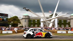 360 Video From Mattias Ekström's 560hp Audi S1 EKS RX Quattro Rallycross Car