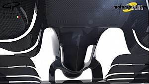 F1技术解析Giorgio Piola  - 印度力量VJM09前翼升级