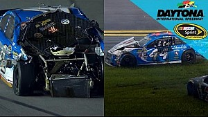 Ride along for Harvick's wild ride with Brian Scott at Daytona