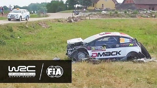 WRC 2 - Rally Poland 2016: Highlights Day 2