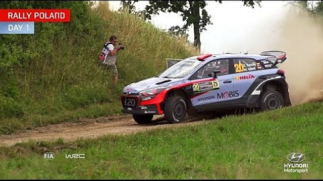 Rally Poland Day One - Hyundai Motorsport 2016