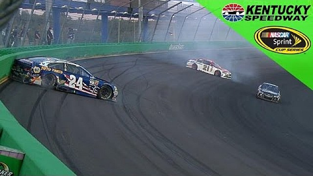 Kentucky: Crash von Blaney & Elliott