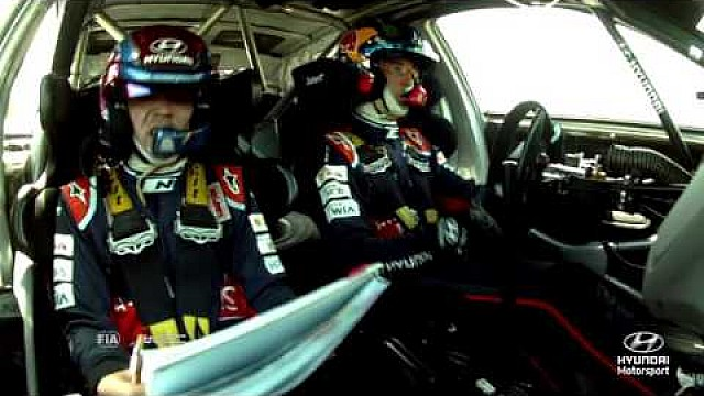 Rally Poland Best of: On-board Cameras - Hyundai Motorsport 2016