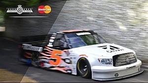 NASCAR-Truck beim Bergrennen