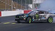 Tour of Vaughn Gittin Jr.'s Formula Drift 900 hp Ford Mustang RTR