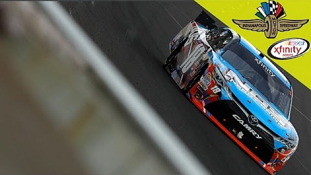Kyle Busch wins the Indianapolis 250