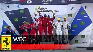 Nürburgring: Doppelsieg für Ferrari