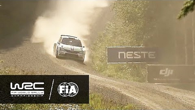 WRC 2 - Neste Rally Finland 2016: WRC 2 - Friday Highlights