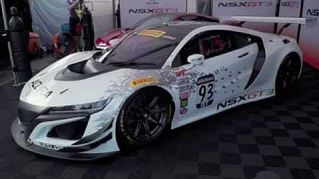 HPD Trackside -- NSX GT3 Unveiling at Mid-Ohio