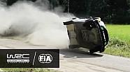 WRC - Ралі Фінляндія 2016: Аварія Аль-Раджи