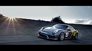 La Porsche Cayman GT4 Clubsport sull'ovale