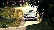 FIA ERC - 25 Rally Rzeszow - Top 4 on Qualifying Stage