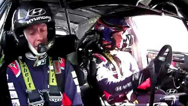 Rally Finland Best of: On-board cameras