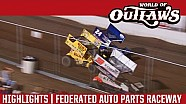 World of Outlaws Craftsman Sprint Cars Federated Auto Parts Raceway August 6, 2016 | HIGHLIGHTS