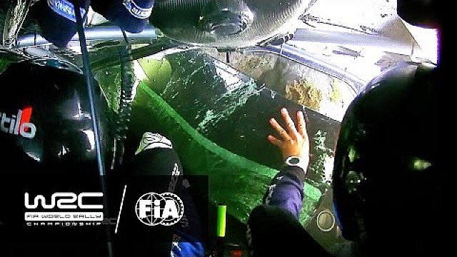 Rally Finland 2016: CRASH Eric Camilli