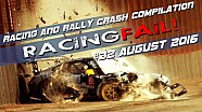 Racing and Rally Crash Compilation Week 32 August 2016