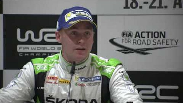 Rallye Deutschland 2016: Post-Event Press Conference