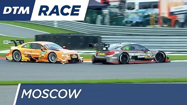 Green clears his way - DTM Moscow 2016