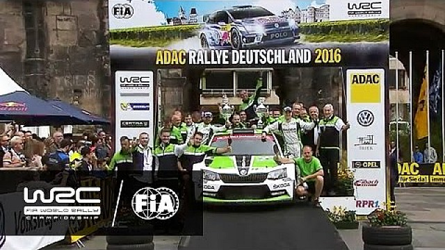 WRC 2 - Rallye Deutschland 2016: WRC 2 HIGHLIGHTS/ Review Clip