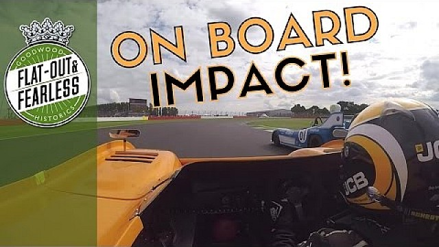 900bhp McLaren and screaming V12 Matra collide at Silverstone