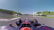 A bordo con Max Verstappen para una vuelta 360 de Zandvoort
