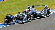 La Jaguar Racing nei test di Donington