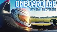 Donington Park Onboard Lap: Jean-Eric Vergne - Formula E