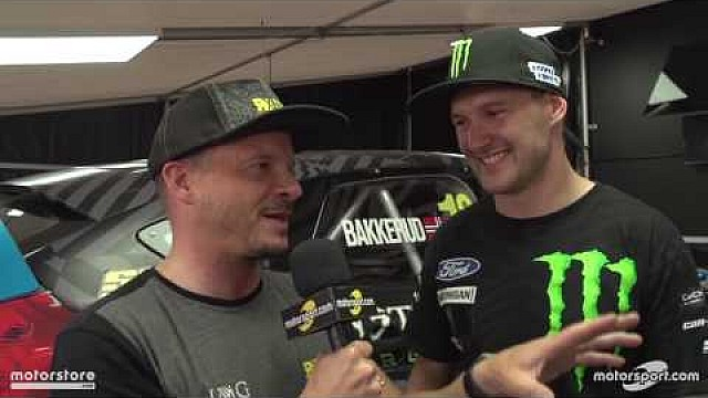 WorldRX 2016 - France: Interview with Andreas Bakkerud