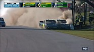 Insane finish followed by fight in NASCAR CTMP race
