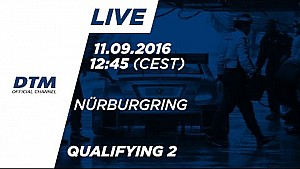 Live: Qualifying (Race 2) - DTM Nürburgring 2016