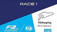 F3 Europe - Nürburgring 2016 - Course 1