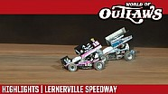 World of Outlaws Craftsman Sprint Cars Lernerville Speedway September 24th, 2016 | Highlights