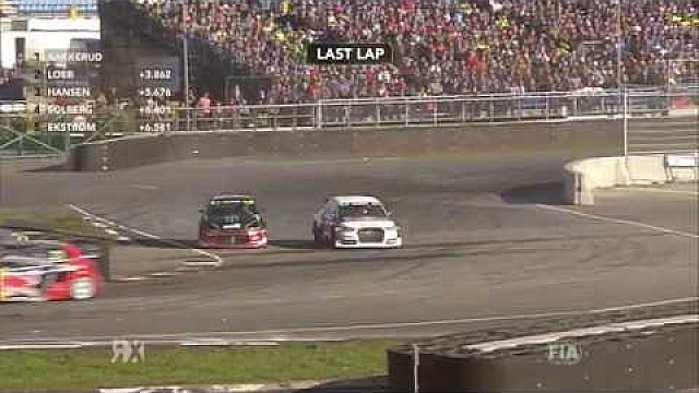 Solberg vs Hansen vs Ekstrom: Latvia RX | FIA World RX