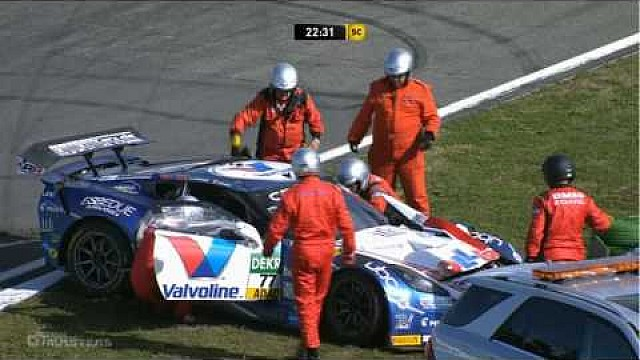 Flinke crash in GT Masters op Hockenheim