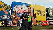 Vincent Nobile races to his first win of the season