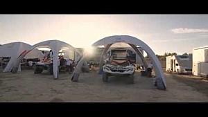 Les débuts du 3008 DKR au Rallye du Maroc