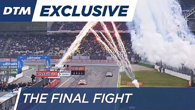 THE FINAL FIGHT! Green vs Mortara vs Wittmann - DTM Hockenheim Final 2016